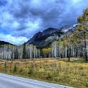 Bow Valley Parkway Banff National Park Alberta Canada Art Print
