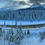 Bow Valley River Giant Panorama Art Print