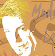 Bowie Modern Love  Art Print