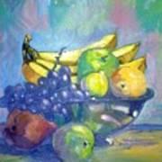 Bowl Of Fresh Fruit Art Print