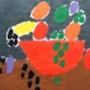 Bowl Of Fruit Art Print