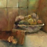 Bowl Of Fruit Print by M Allison