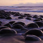 Bowling Ball Beach California 2 Art Print