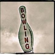 Bowling Art Print