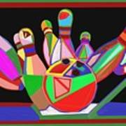Bowling Sports Fans Decoration Acrylic Fineart By Navinjoshi At Fineartamerica.com  Down Load  Jpg F Art Print