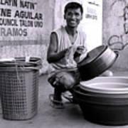 Bowls For Washing Art Print