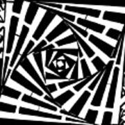 Box In A Box Maze Art Print
