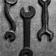 Box Wrench Art Print