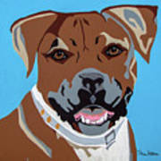 Boxer Art Print by Slade Roberts