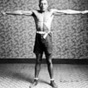 Boxing. Boxer Tut Jackson, Ca. 1922 Print by Everett