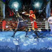 Boxing Night Art Print