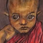 Boy In Burma Art Print