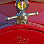 Boyce Motometer Hood Ornament Art Print