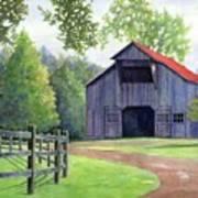 Boyd Mill Barn Art Print