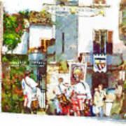 Boys In Medieval Dress Art Print