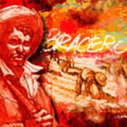 Bracero Art Print