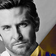 Bradley Cooper Collection Art Print