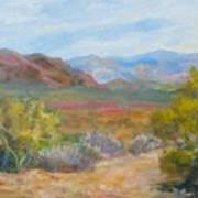 Bradshaws, West Of Phoenix Art Print
