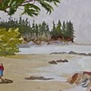 Brady Beach #2 Art Print