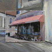 Brady Street - Peter Scortino Bakery Layered Art Print