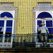 Braga Balcony Art Print