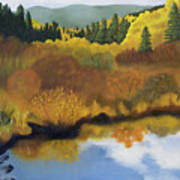 Bragg Creek Art Print