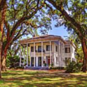 Bragg Mitchell House In Mobile Alabama Art Print