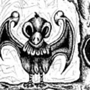 Bragon The Bird-dragon Art Print