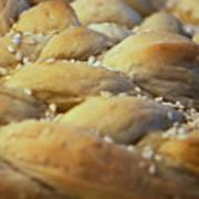 Braided Bread Art Print