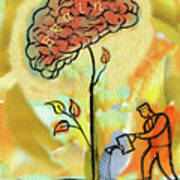 Brain Care Art Print