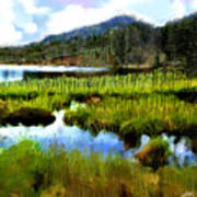 Brainard Lake Rocky Mountain National Park Art Print
