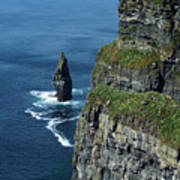 Brananmore Cliffs Of Moher Ireland Art Print