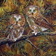 Branch Buddies Art Print