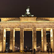 Brandenburg Gate Art Print