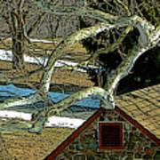 Brandywine Springhouse Art Print