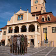 Brasov Town Hall Art Print