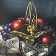 Brass Basket Art Print