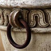 Brass Ring Rusted Art Print