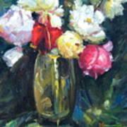 Brass Vase Art Print
