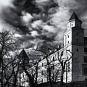 Bratislava Castle Art Print
