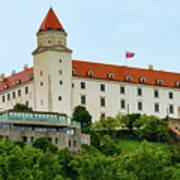 Bratislava Castle One Art Print