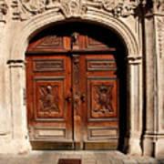 Bratislava Doors Art Print