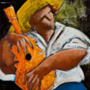 Bravado Alla Prima Art Print by Oscar Ortiz