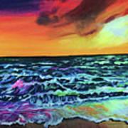 Brazilian Sunset Art Print