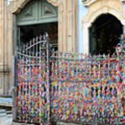 Brazilian Wish Ribbons Art Print