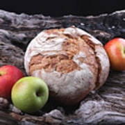 Bread Landscape Art Print