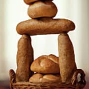 Bread Tower Art Print