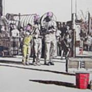 Breakdance San Francisco Art Print