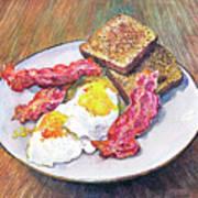 Breakfast Is Served Art Print