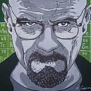Breaking Bad, Walter White Art Print
